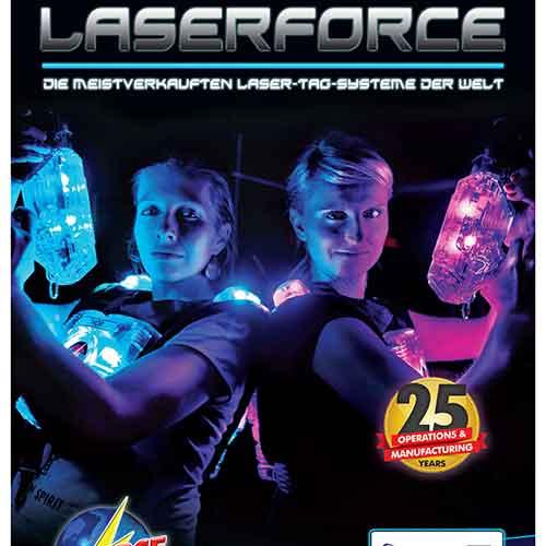 Laserforce Brochures German